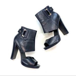 Nine West Violet Hour Leather Booties